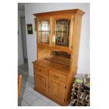 Kitchen Hutch with glass front
