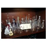 Crystal Bells and Glassware