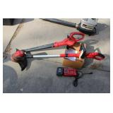 Craftsman Cordless Trimmer and Blower
