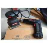 Craftsman Sanders and Drill