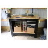 Craftsman Tool Bench and Miter Saw