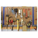 Hammers, Vise Grips, CatsPaw, Pipe Wrench