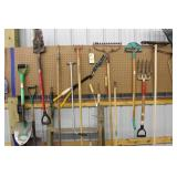 Shovels, Spades, Rake, Garden Tools, Edger