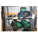Fishing Tackle Bag and Flies