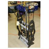 Rod Stand with Rods and Reels