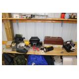 Tackle Box, Flasher, Eagle Fish Finder
