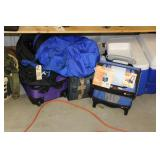 Duffle Bags and Coolers