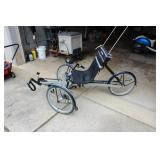 """TerraTrike """"The Rover"""" Reclining Bicycle"""