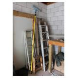 Step Ladders, Extendable ladders