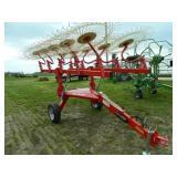 Farm King BATRAKE 10 Wheel V Rake