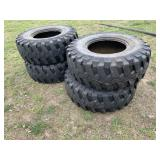 Michelin 405/70R 20XZSL (set of 4) Loader Tires