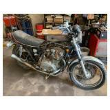 1976 Kawasaki KZ750 motorcycle
