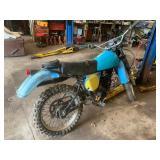 Yamaha enduro motorcycle
