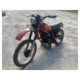 1983 Honda XL250R dirt bike