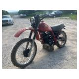 1983 Honda XL250R motorcycle