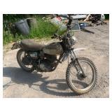 1972 Honda XL250 dirt bike