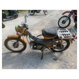 1972 Honda CT90 motorcycle