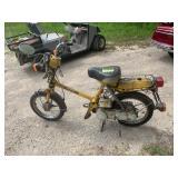 1980 Honda Express 50 moped