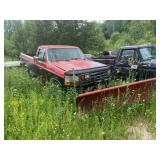 Ford truck and plow
