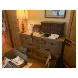 dresser and bedroom furniture