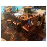 handmade table, 9