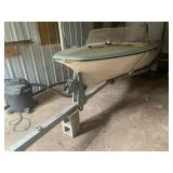 Glastron boat with Johnson motor