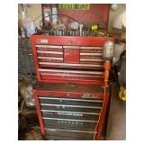 stacking tool box and tools
