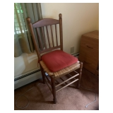 woven bottom chairs