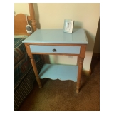 hallway table and drawer