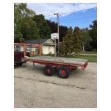 goose neck utility trailer