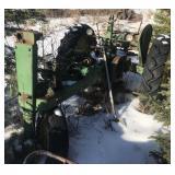 John Deere parts tractor