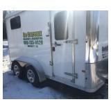 2010 enclosed utility trailer