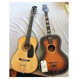 Pair of Youth Guitars