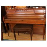 Wurlitzer Piano and Bench