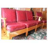Cottage style couch and chair