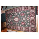 7 matching rugs