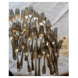silver forks, appear sterling