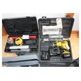 DeWalt Drill, Saw, Transit and a Battery Boost
