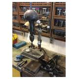 Drill Press, vice, clamps, etc