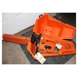 Stihl 015L chainsaw and case