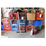 crates and all contents