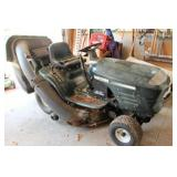Craftsman 17HP Turbo lawn tractor with bagger