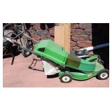 Bolens push mower and bag