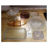 Glassware and Serving Trays