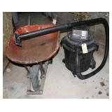 Craftsman ShopVac and Wheel Barrow