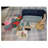 Net Hammocks, Pack n Play and misc. decor