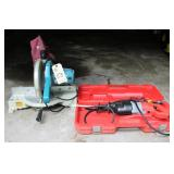 Makita Miter Saw and Milwaukee SawzAll
