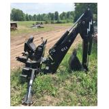 BradCo. Model 609 Back Hoe Attachment