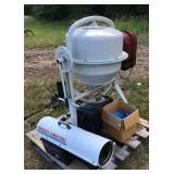 Tool Shop Model 244-8877 Cement Mixer