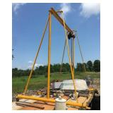 Gantry Crane with Wright Pulley